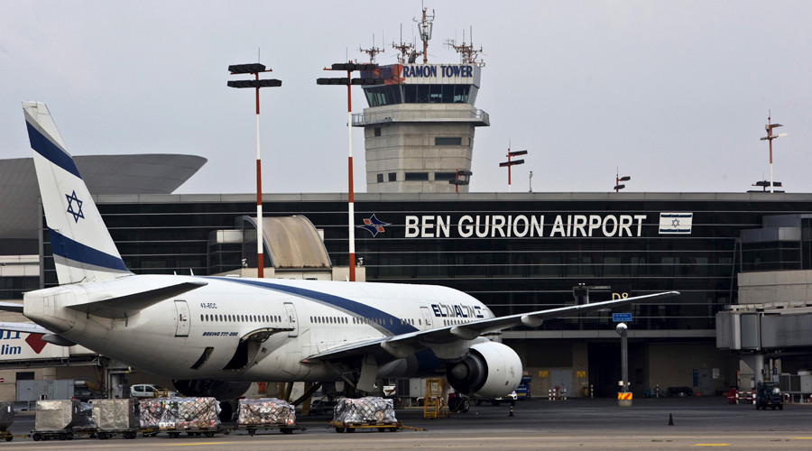 Seconds from disaster: Passenger jet & drone narrowly avoid collision over Israel