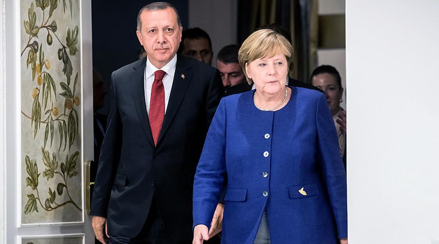 'Enemies of Turkey': Erdogan tells 'countrymen' in Germany not to vote for Merkel's party