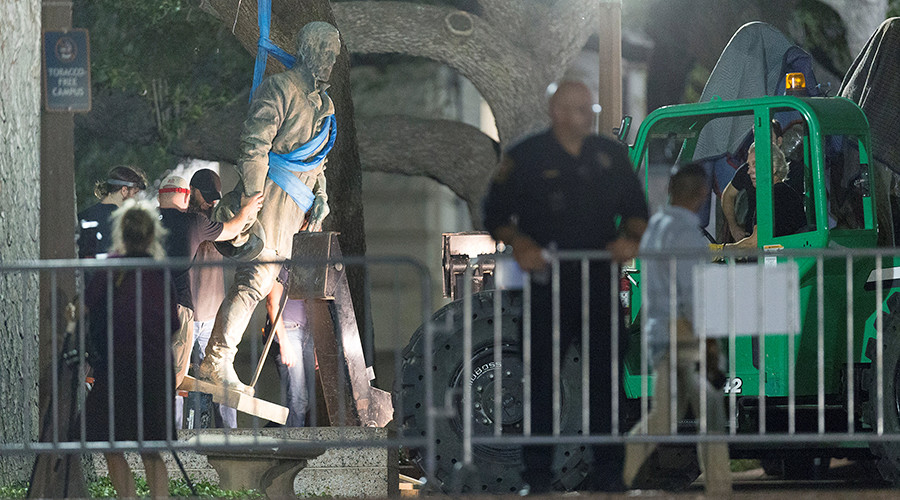 'Symbols of subjugation': University of Texas removes Confederate monuments
