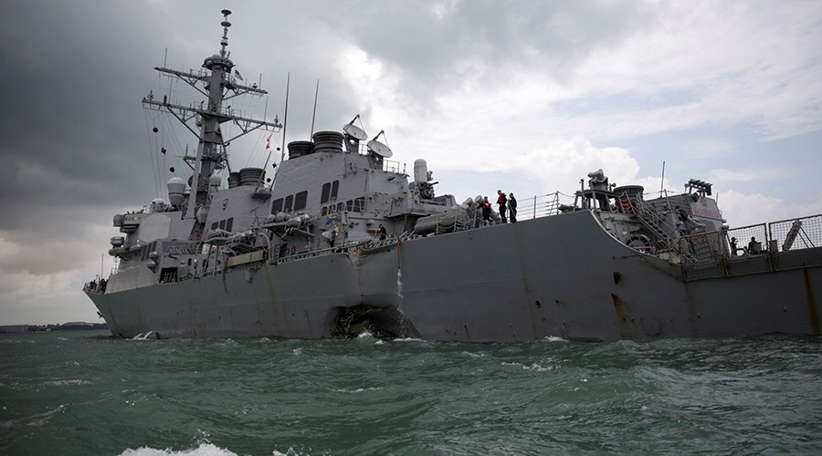 Rough seas: Alarming trend of US Navy ships involved in collisions in 2017
