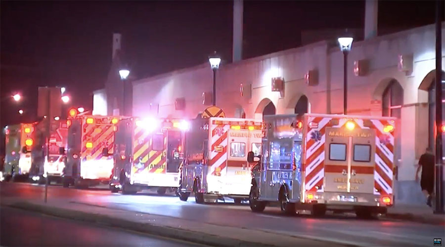 Over 40 people injured in Pennsylvania train crash (VIDEO)