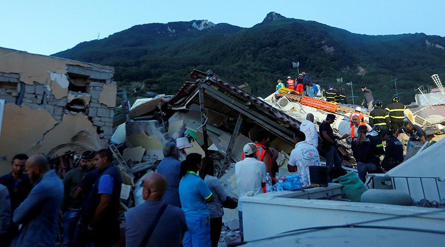 1 dead as 3.6 earthquake shatters buildings near Naples, Italy (PHOTOS, VIDEO)