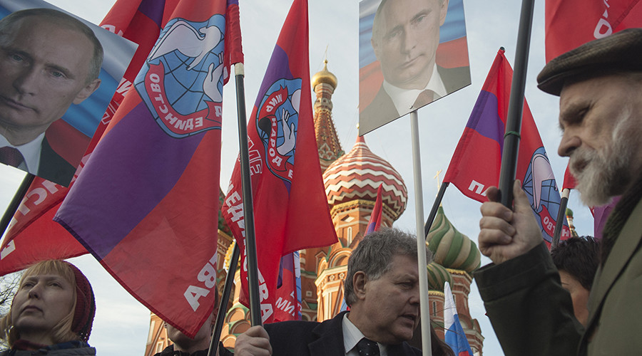 Putin's approval rating at 83% in August