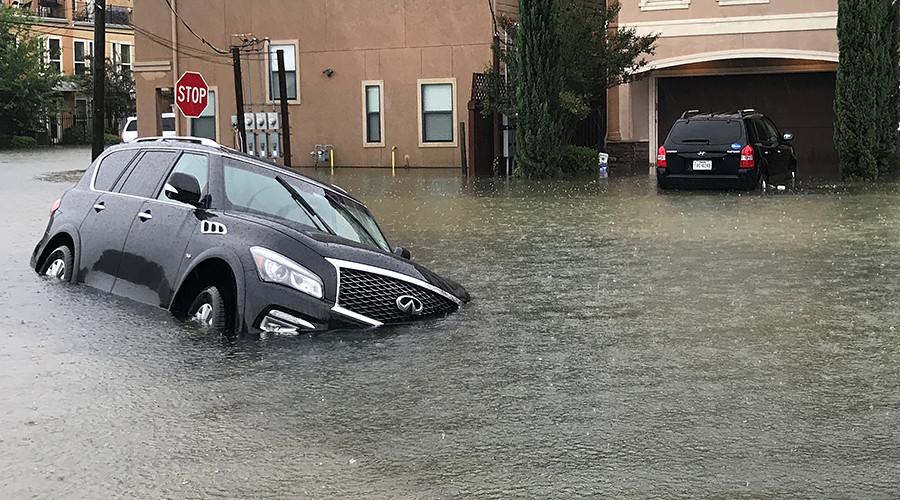 Flash flood emergency declared in Houston, Texas with 'unprecedented' 50in of rainfall