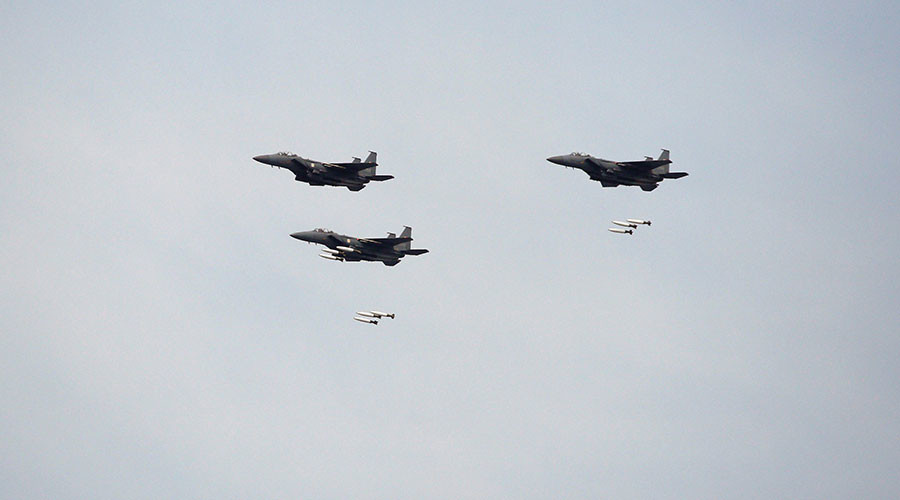 'Overwhelming force': South Korea conducts bombing drill in response to Pyongyang's missile test