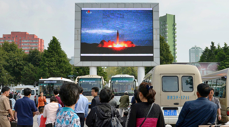 North Korea releases footage of missile launched over Japan (VIDEO)