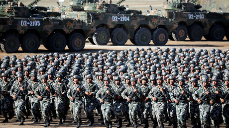 People's Liberation Army soldiers © China Daily