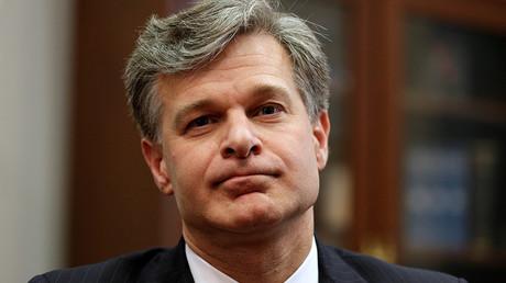 FBI Director Christopher Wray © Joshua Roberts