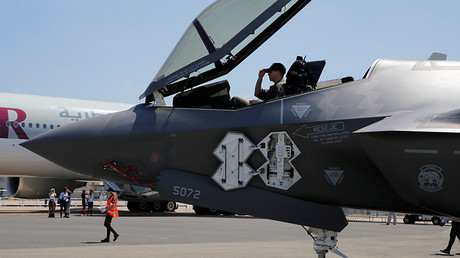 Lockheed Martin F-35 Lightning II aircraft © Pascal Rossignol