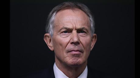 Former British Prime Minister Tony Blair © Toby Melville