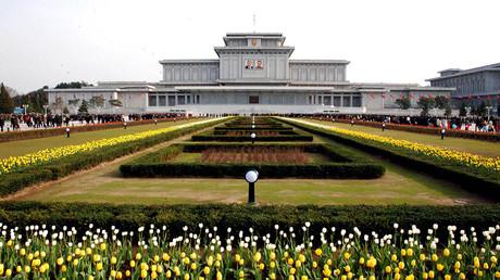 The Kumsusan Palace of the Sun in Pyongyang © KCNA