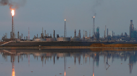 FILE PHOTO A general view of the Amuay refinery complex which belongs to the Venezuelan state oil company PDVSA in Punto Fijo, Venezuela © Carlos Garcia