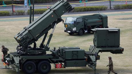 A unit of Patriot Advanced Capability-3 (PAC-3)  © Issei Kato