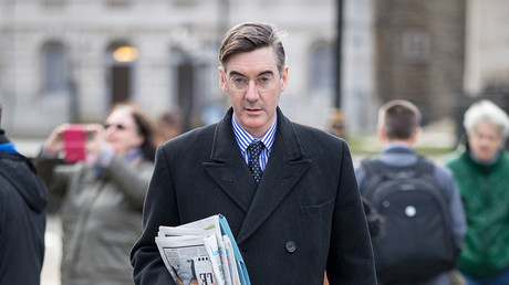 UK. Conservative MP Jacob Rees-Mogg. © Tom Nicholson / London News Picture / Global Look Press
