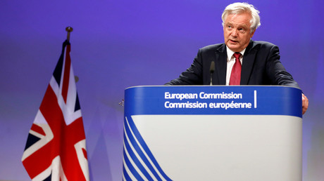 Britain's Secretary of State for Exiting the European Union David Davis © Francois Lenoir