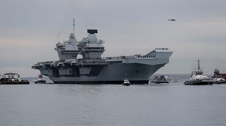 HMS Queen Elizabeth © Peter Nicholls