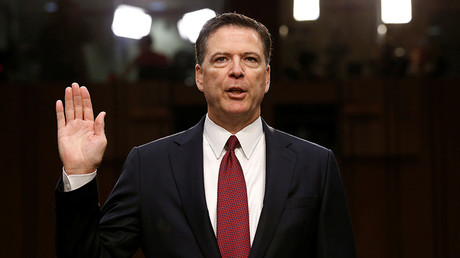 FBI releases ex-director Comey's job performance survey