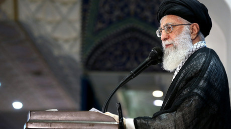 Iranian supreme leader Ayatollah Ali Khamenei  © Iranian Supreme Leader's Website