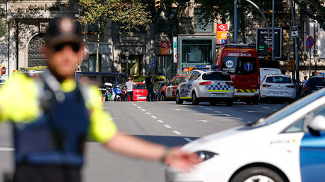 Several injured after van crashes into pedestrians in Barcelona's city center - police