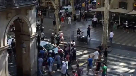 First footage of Barcelona terrorist attack aftermath (PHOTOS,VIDEOS)