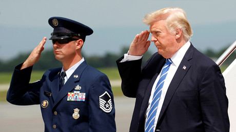 Trump reviews military options for Afghanistan at Camp David, makes no decision