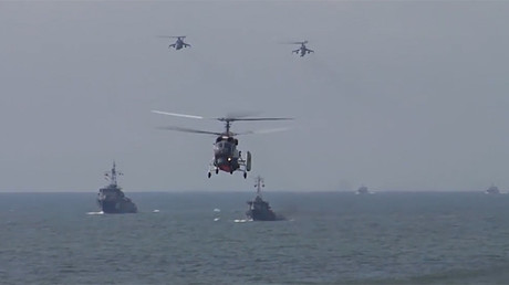 Russia: Marines flex military might in enormous training exercise