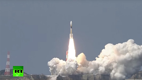 RAW: Japan launches satellite-carrying rocket