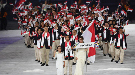 #ShameonyouMalaysia hashtag goes viral after Malaysia presents Indonesian flag upside down