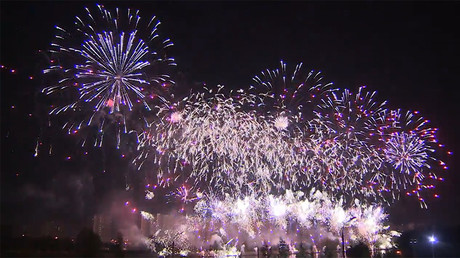 International Fireworks Festival lights up sky over Moscow