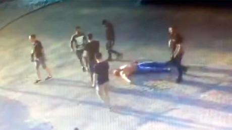 Russian powerlifting champ killed in brutal street brawl (DISTURBING VIDEO)