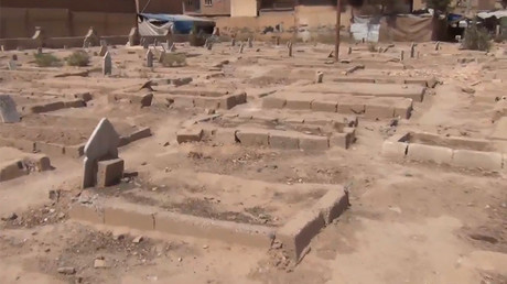 'We used to ride swings here': ISIS siege turns Deir ez-Zor's parks into cemeteries (VIDEO)