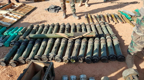 Lebanese Army seizes large weapons cache from ISIS (PHOTOS)