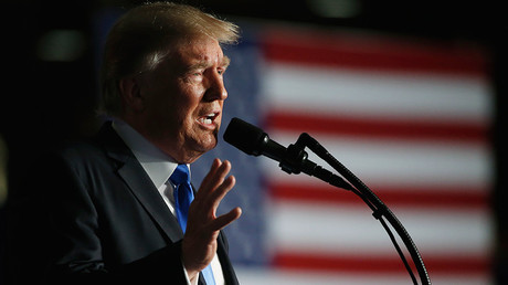 US President Donald Trump © Joshua Roberts
