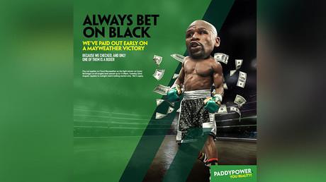 'Always bet on black': Bookmaker's Mayweather v McGregor tweet branded racist