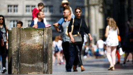 European cities ramp up security with new barriers to protect people from terrorists (VIDEOS)