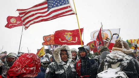 DAPL protesters sued for being 'eco-terrorists' by company behind pipeline