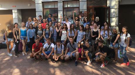 Children's culture trip to Russia triggers Ukrainian security service probe