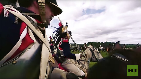 Napoleon is Back: Rehearsal reenactment of the Battle of Borodino (360 VIDEO)