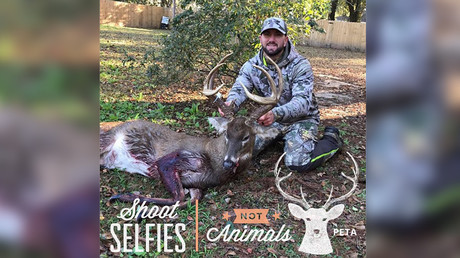 Hunters unmercifully troll PETA's 'Shoot Selfies, Not Animals' campaign