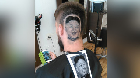 Trim Jong-un! Barber shaves image of N. Korea leader into client's scalp (VIDEO)