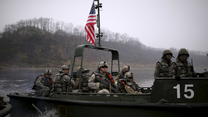 US Army prepares forces in South Korea for WMD attack
