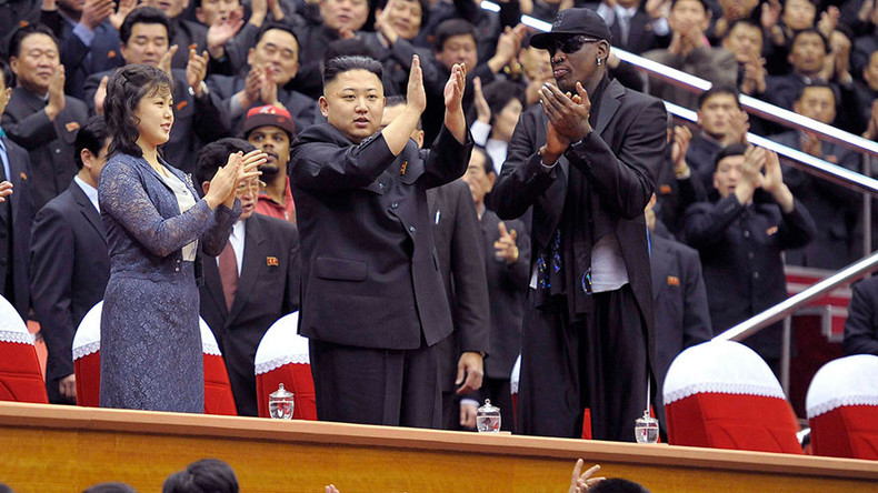 Dennis Rodman offers to 'straighten things out' between Trump & N. Korea's Kim