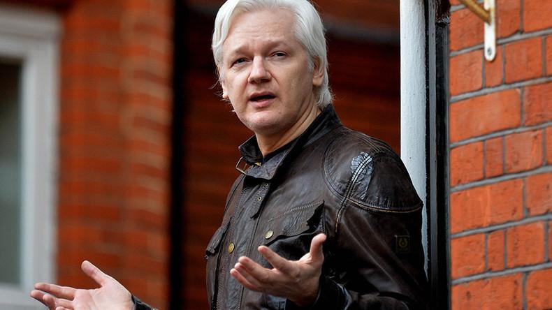 'US taboo': Assange rubbishes climate change denial in hurricane tweet