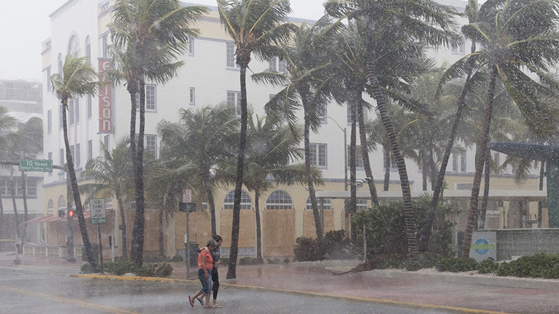 Thousands left without electricity as Florida braces for 'most catastrophic storm'