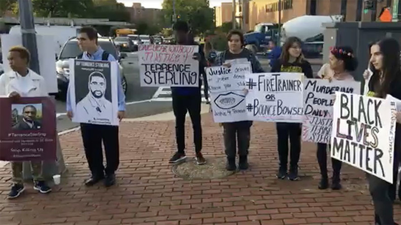 On 9/11, vigils for African-American motorist killed by police (VIDEO)