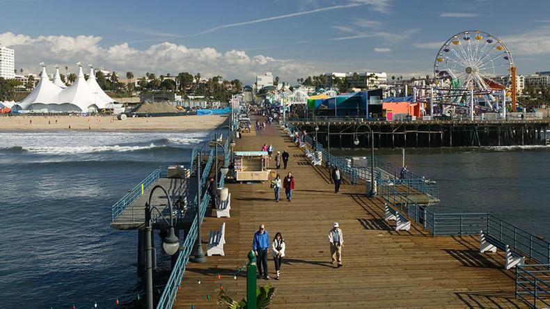 Santa Monica Pier evacuated due to bomb threat