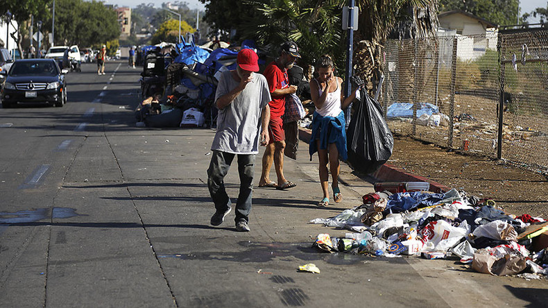 15 dead in hepatitis outbreak as San Diego starts street washing