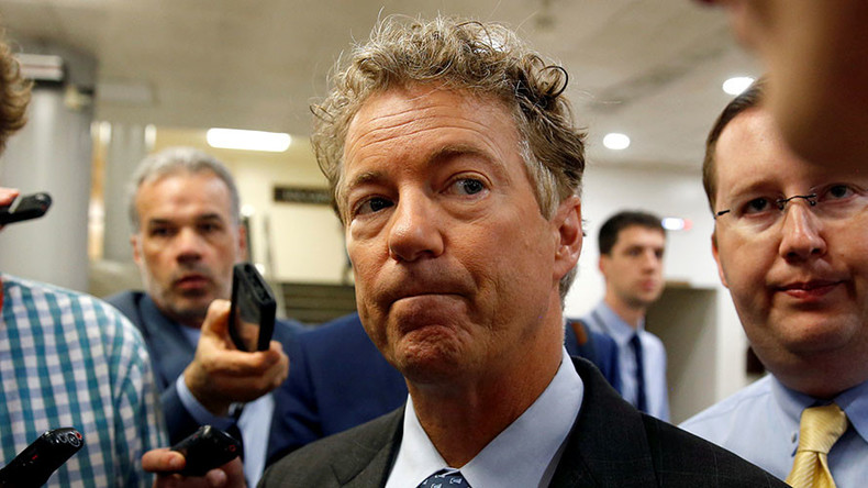 Rand Paul threatens to hold up defense bill unless Congress votes to end wars in Afghanistan & Iraq