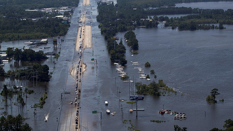 US Air Force sprays Harvey-stricken Texas with controversial chemicals