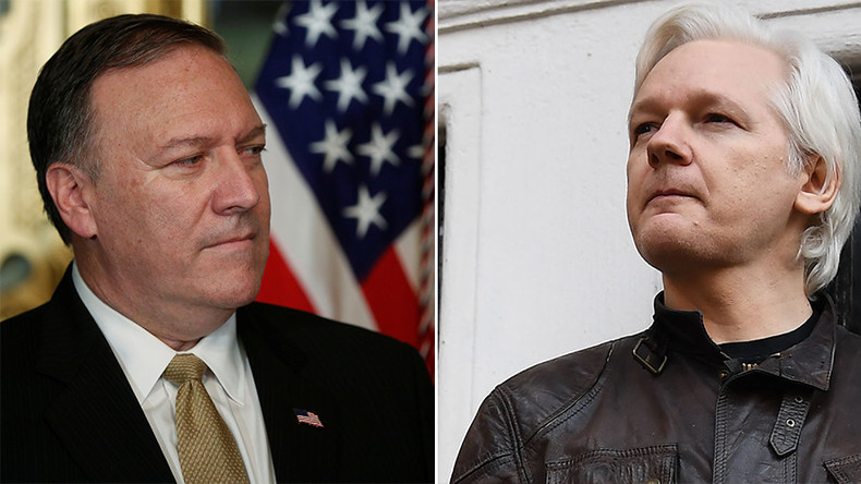 Assange trolls 'triggered' Pompeo for 'WikiLeaks an enemy of the US' claim